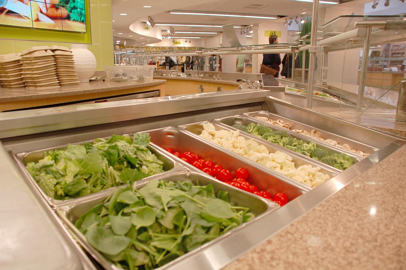 Salad Bar Vanderbilt Campus Dining