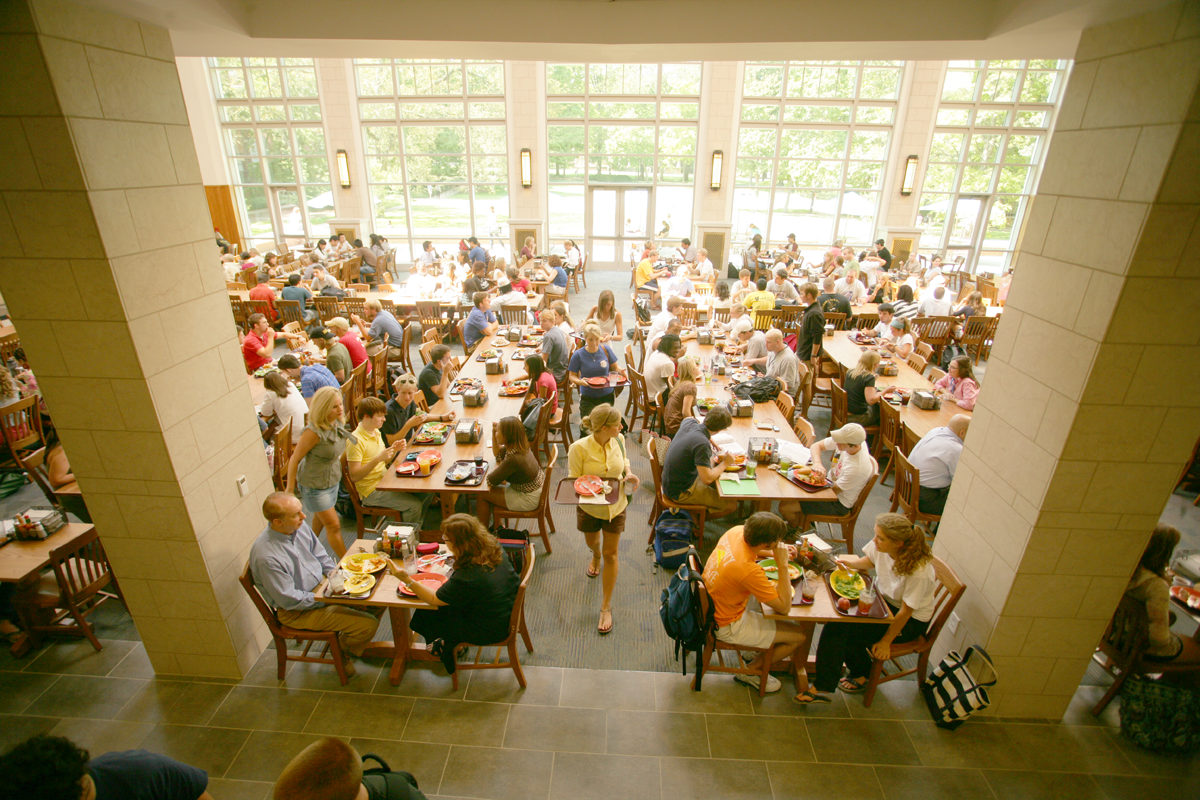 The Commons Features The Food Gallery And Common Grounds.